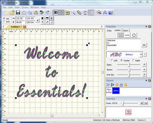 Embrilliance Essentials Embroidery Software for all Windows and Mac