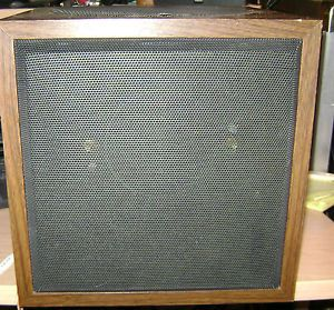 Pair of Vintage Allison Model Six 6 Loudspeakers Working Project Made in USA