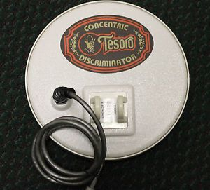 Tesoro 7 inch Concentric Discriminator Metal Detector Coil