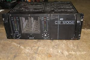Details about PEAVEY CS 1200X PROFESSIONAL STEREO POWER AMPLIFIER