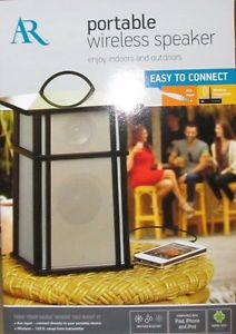 about Acoustic Research Portable Wireless Outdoor Speaker AWS53 NEW