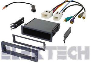 Infiniti Q45 Radio Stereo Dash Mount Mounting Kit Wiring Harness Antenna Adapter