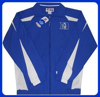 Duke Blue Devils Full Zip Windbreaker Jacket Big Tall