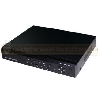H 264 D1 8CH DVR Network Video Recorder HDMI PTZ USB Smart Phone View Plug Play