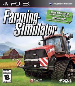 Farming Simulator PlayStation 3 New