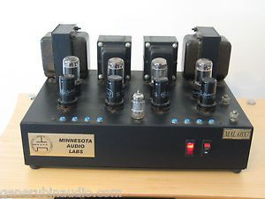 Minnesota Audio Labs Tube Power Amplifier Amp Made in USA