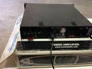 Crown Audio XS 900 Stereo Power Amplifier Amp PA DJ Class H 2500 Watt