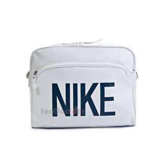Borsa Nike Heritage Ad Track Laptop Bag BA4358 114 Gym Sport White