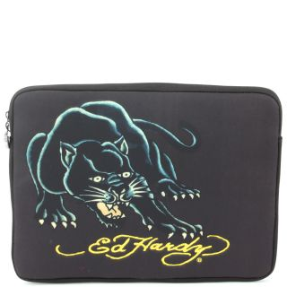 Ed Hardy Black Panther Bill Computer Laptop Sleeve