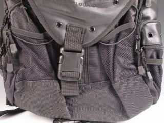 New National Guard Black Field Backpack