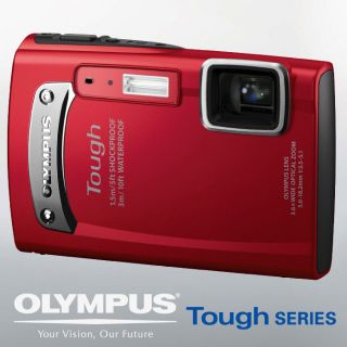 New Olympus Tough TG 310 TG310 Waterproof Camera Red
