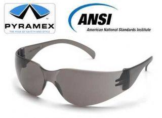 1 Dozen Pyramex Intruder S4120S Gray Safety Glasses Oilfield Roughneck Stickers