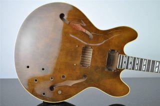 1967 Gibson ES 345 TDW Walnut Hollow Body Electric Guitar w Hard Case 5864