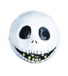 Adult Disney Nightmare Before Christmas Deluxe Jack Skellington Costume Mask