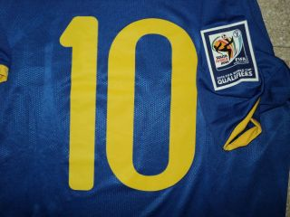 Kaka Brasil Match Un Worn Shirt and Signed by The Players
