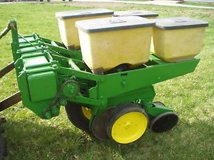 John Deere 2 Row 7000 Planter 3 Point Hitch Mounted Sweet Corn Food Plots