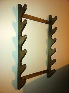 wood gun racks wall on PopScreen