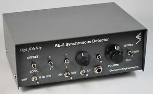 Sherwood Engineering SE 3 MK IV Synchronous Detector Shortwave Radio Receivers