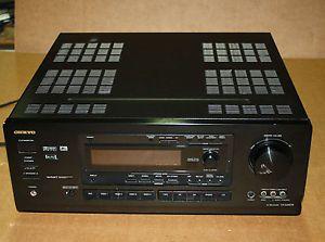 Onkyo TX DS676 Audio Video Control Tuner Amplifier Am FM Stereo Receiver Digital
