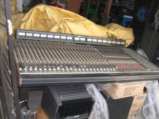 Vintage Old School 24 Track Channel Soundcraft Recording Studio Mixer Console