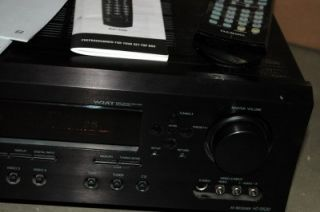 Onkyo HT R520 6 1 Surround Sound Home Theater System Receiver Remote Speakers