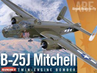 Hangar 9 B 25 J Mitchell ARF Remote Control Airplane Kit