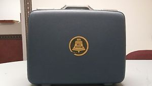 Western Electric KS 16606 L2 Telephone Carrying Case with 2 Vintage Telephones