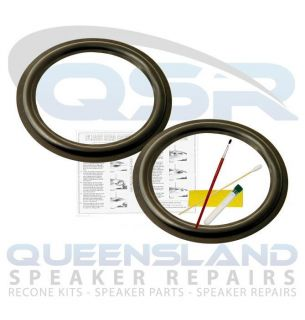 "8"" Speaker Rubber Surround Repair Kit to Suit Vifa Mission Speakers RS183 157"
