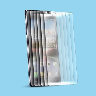 6X C Skins Clear Screen Protector for LG Optimus 4X HD P880 LCD Guard Cover