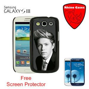 For Samsung Galaxy S3 One Direction Niall Horan Case Cover Screen Protector
