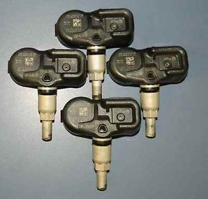 12 2012 Yaris Prius 4 Tire Pressure Sensors Set TPMS OE