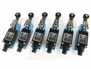 6 PC Temco Fixed Roller Arm Limit Switch CNC Mill Plasma Router Lathe Home Lot