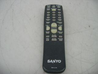 Sanyo RMT U100 TV Cable VCR Remote Control