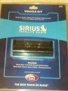 Sirius Satellite Radio Plug Play Vehicle Kit