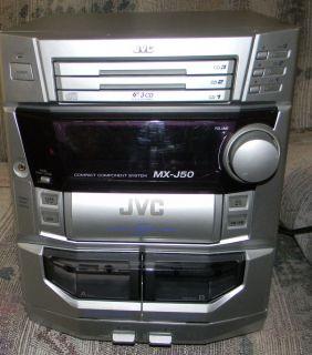 JVC MX J50 Stereo System Radio CD