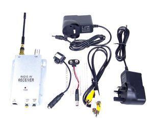 Wireless Monitor Mini Color CCTV Video Camera Spy Security Camera Set