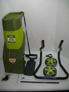 Snow Joe CJ601E Sun Joe Electric Wood Chipper and Shredder Portable 14A Used
