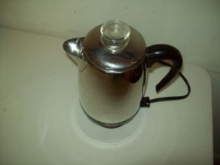 Vintage Farberware Electric Percolator Coffee Maker American Made Model 138