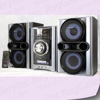 Sony Mini Hi Fi Audio Shelf Component System USB Aux Port 380 Watt RMS MHCEC78PI