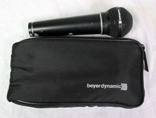 Beyerdynamic M Stage Microphone Beyer M300 TG Dynamic Professional Mic Wired