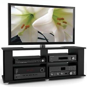 """Sonax Fillmore 48"""" TV Stand in Midnight Black FS 3480"""