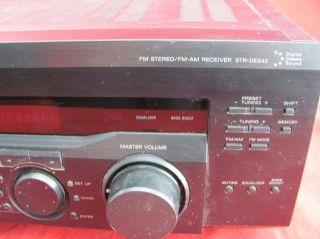 Sony Str DE845 Digital Audio Video Stereo Control Center