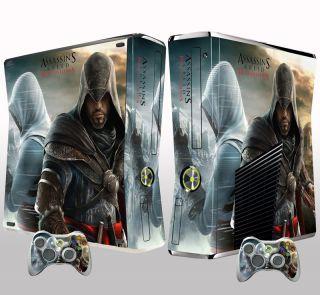 Xbox 360 Slim Assassins Creed Revelations Skin Sticker