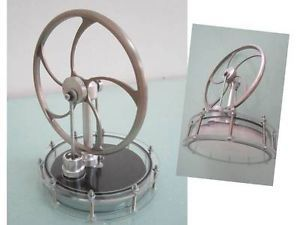 Solar Low Temperature Stirling Engine Solar Powered Free Shipping