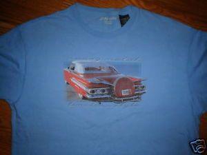 1960 Chevy Impala Convertable Lowrider T Shirt M