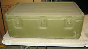 Aluminum Military Medical Chest 32x20x11 Watertight Survival Bug Out Storage Box