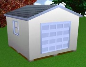 14x14 Storage Shed Plans Package Blueprints More