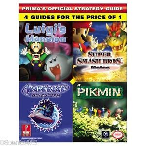 Super Smash Bros Melee Pikmin Prima's Official Strategy Guide GameCube 0761539166