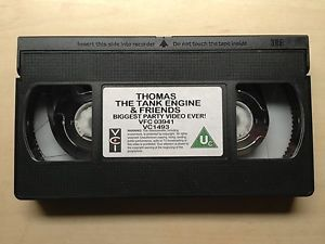 Thomas The Tank Engine Friends Biggest Party Video Ever VHS Video