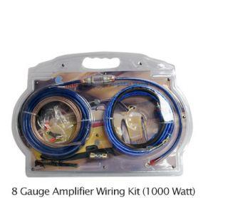 Premium 8 Gauge 1000 Watt Car Amplifier Amp Wiring Installation Kit Accesories